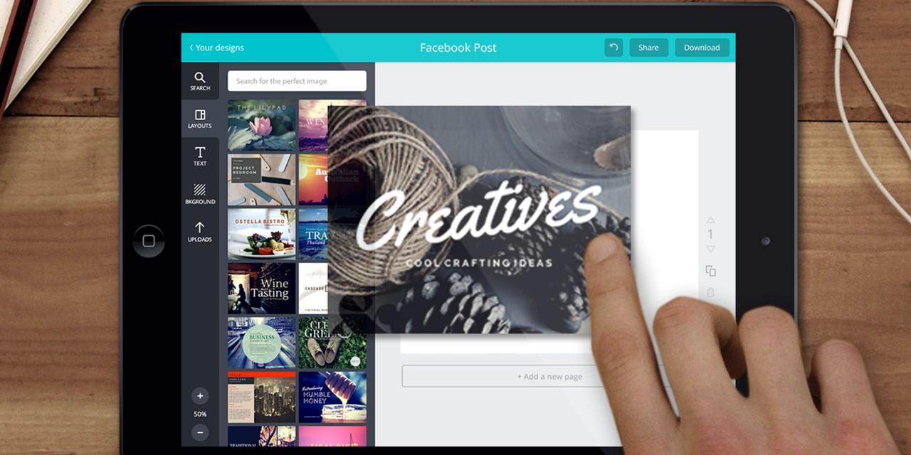 Vrei să editezi imagini ca un profesionist? Folosește Canva!
