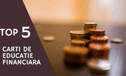 Top 5 cărți despre bani și educație financiară