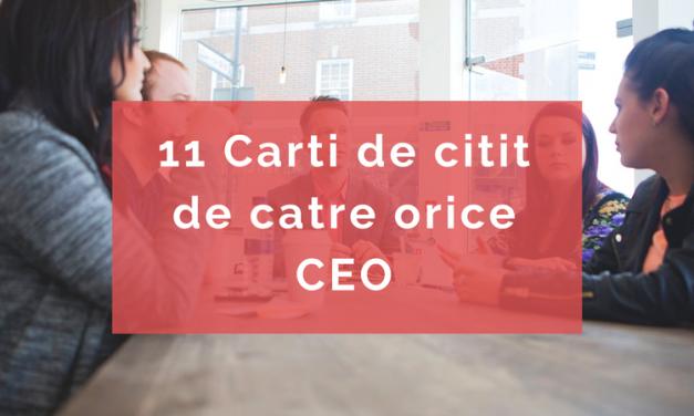 11 Cărți CEO-Must Read de la Editura Litera