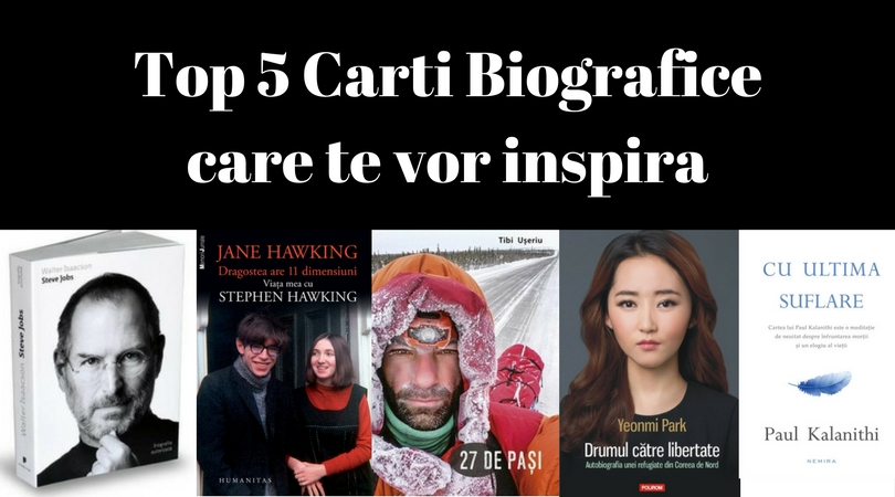 Top 5 Cărți Biografice care te vor Inspira