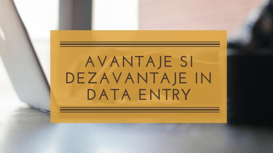 Avantaje și dezavantaje în lucrul ca operator introducere date în regim freelancer