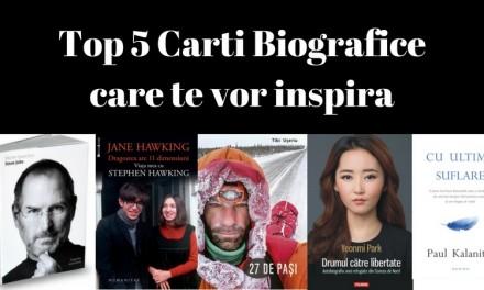 Top 5 Cărți Biografice care te vor Inspira